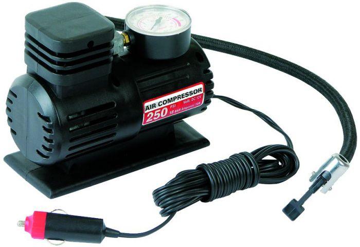 Autokompressor 12 V 250 PSI