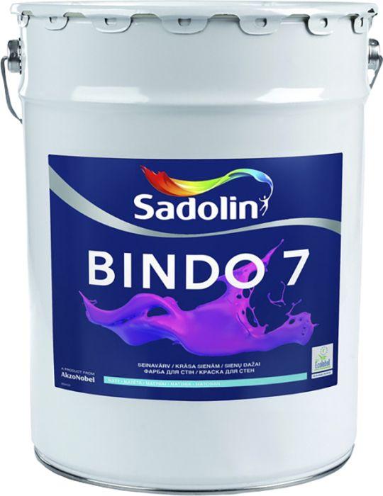 Lae- ja seinavärv Bindo 7 BW, matt valge 20 l