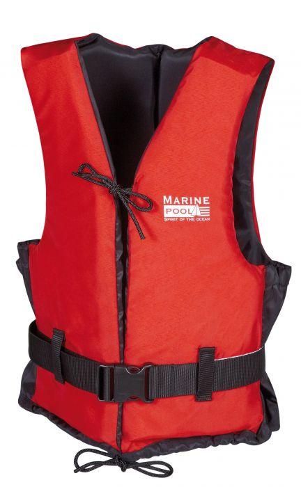 Ujuvvest Marinepool 50N Punane - Must