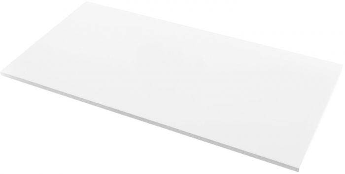 Seinaplaat Kerateam Kristall läikiv valge 30 x 60 cm
