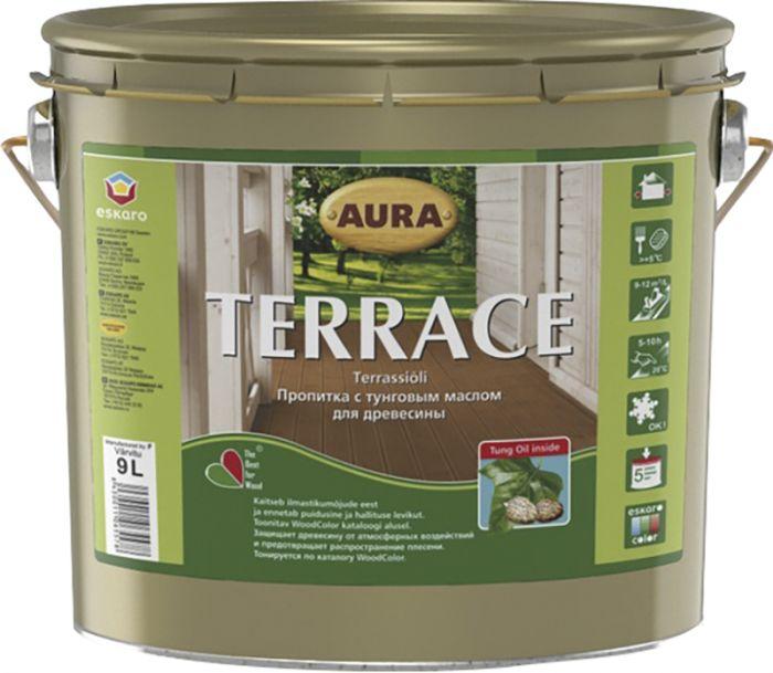 Terrassiõli Aura Terrace, pruun 9 l