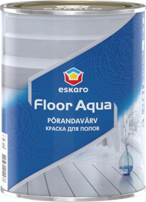 Põrandavärv Eskaro Floor Aqua 0,9 l