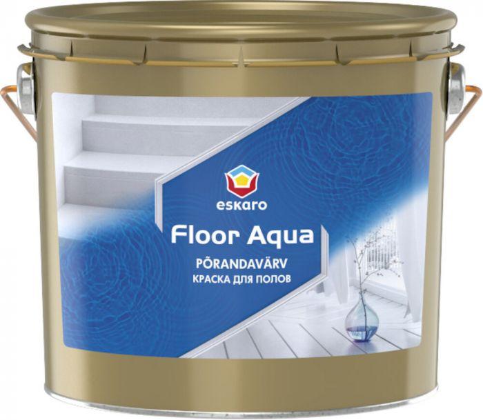 Põrandavärv Eskaro Floor Aqua 2,7 l