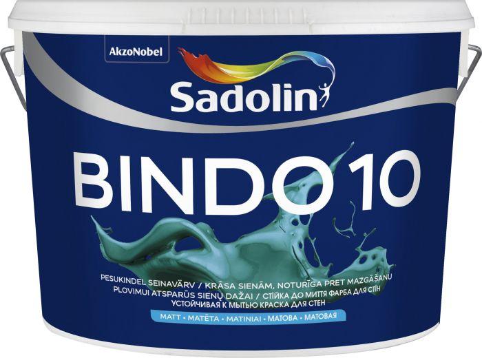 Seinavärv Bindo 10 BW, valge 10 l