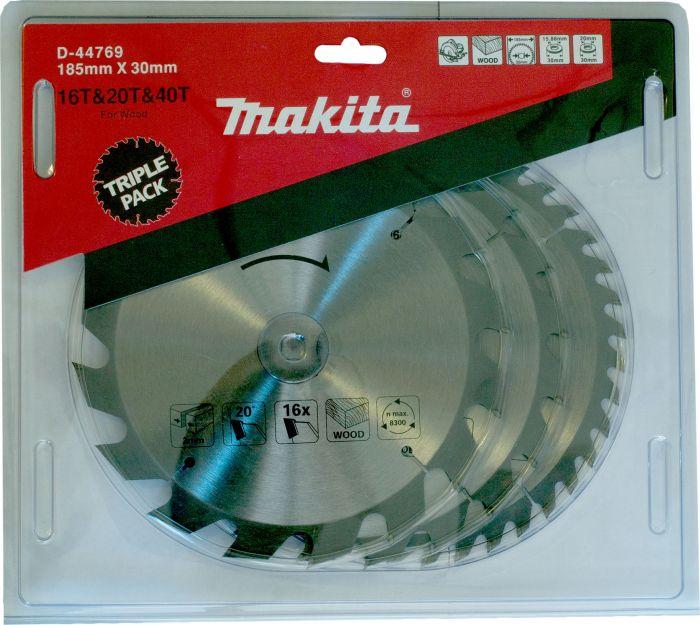 Saeketaste komplekt Makita 185 x 30 mm
