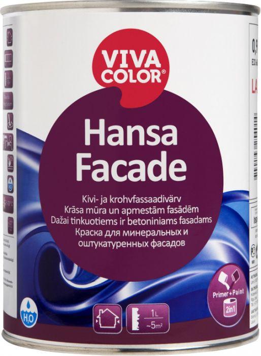 Kivi- ja krohvfassaadivärv Vivacolor Hansa Facade