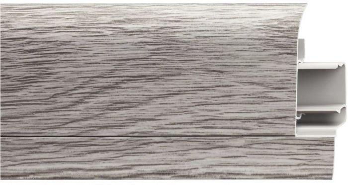 Põrandaliist LM 60, PVC Kendari Oak 20,5 x 60 x 2500 mm