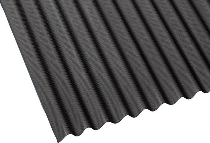 Bituumenlaineplaat Guttanit NC K-11, must 3 x 830 x 2000 mm