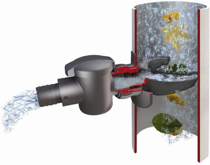 Veeühenduse liitmik vihmaveetünnile