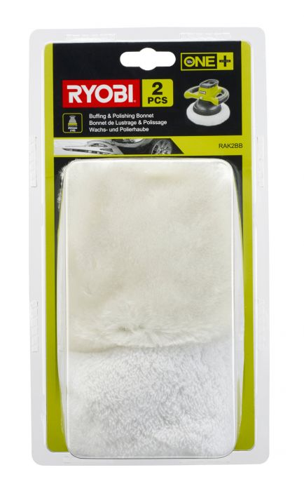 Poleerpadjad Ryobi RAK2BB 2 tk