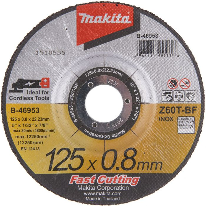 Metallilõikeketas Makita 125 x 08 mm Off-SET