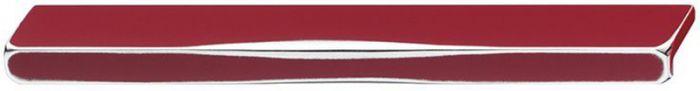 Käepide Häfele 240 x 26 mm punane