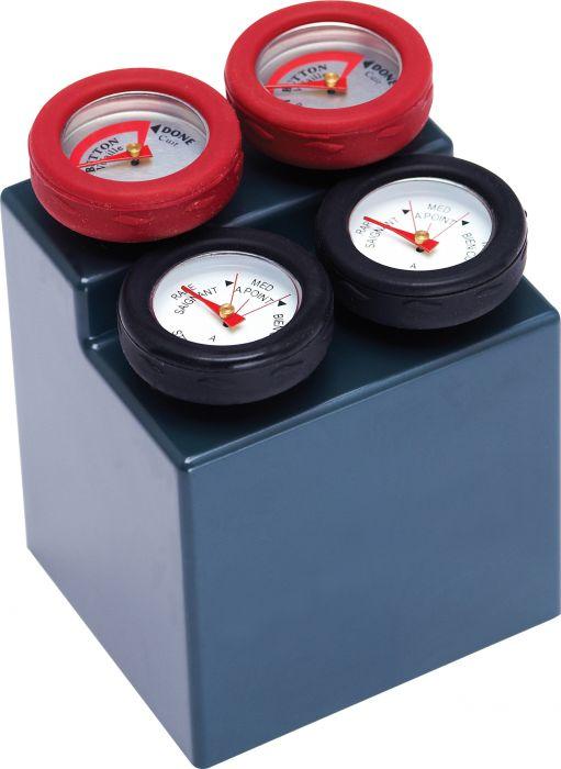 Termomeeter 4 tk, 6,5 x 5,5 x 9 cm