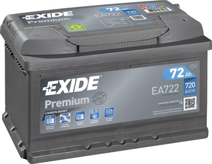 Autoaku Exide Premium 72 Ah