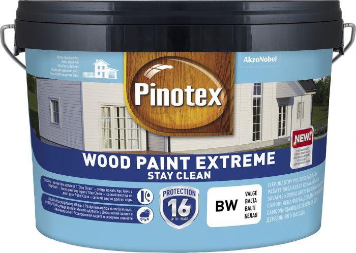 Puitfassaadivärv Pinotex Wood Paint Extreme 2,5 l, valge