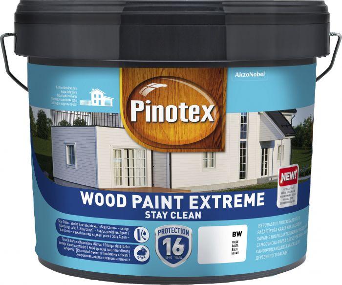 Puitfassaadivärv Pinotex Wood Paint Extreme 10 l, valge