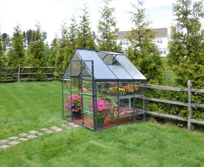 Kasvuhoone Palram Hybrid 3,4 m² hall