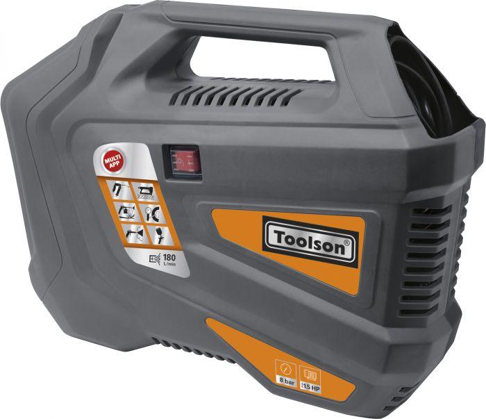 Kompressor Toolson MK180-3 + tarvikud