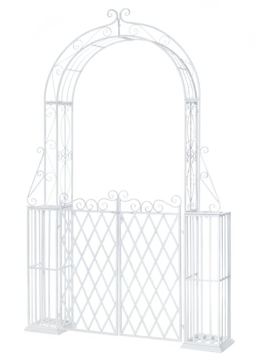 Värav võlvkaarega 162 x 30 x 247 cm