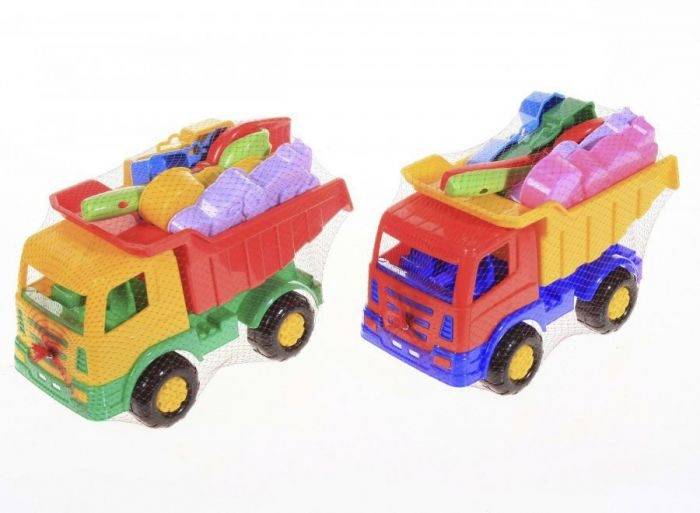 Liivakasti komplekt veoauto