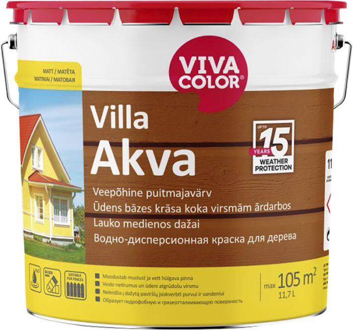 Puitmajavärv Vivacolor Villa Akva 11,7 l