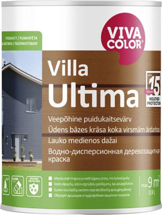 Puidukaitsevärv Villa Ultima 0,9 l