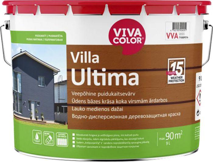 Puidukaitsevärv Villa Ultima 9 l