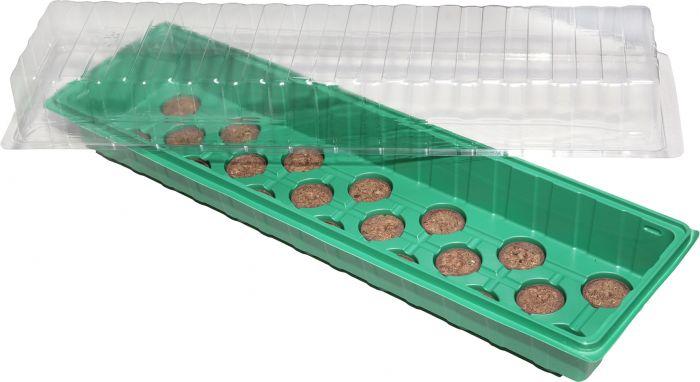 Minikasvuhoone 54,5 x 15,5 x 12 cm
