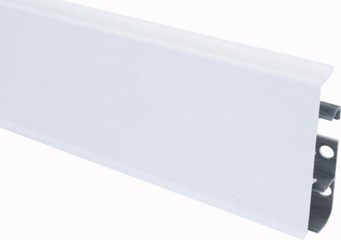 Põrandaliist PVC valge 22 x 75 x 2500 mm