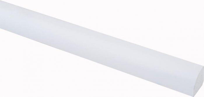 Vaibaliist PVC valge 18 x 18 x 2500 mm