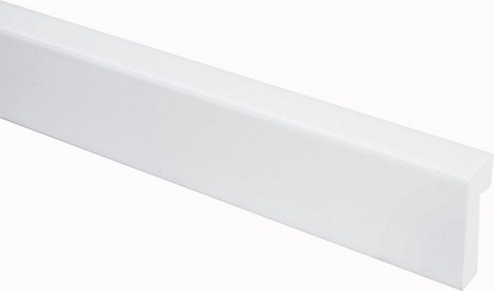 Välisnurgaliist PVC valge 17 x 42/7 x 2200 mm