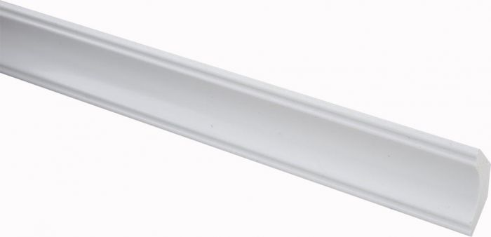 Laeliist PVC valge 22 x 22 x 2700 mm