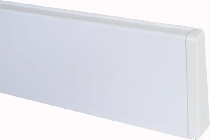 Põrandaliistu ots PVC valge parem 22 x 75 mm