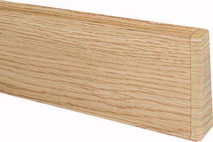 Põrandaliistu ots PVC tamm parem 22 x 75 mm