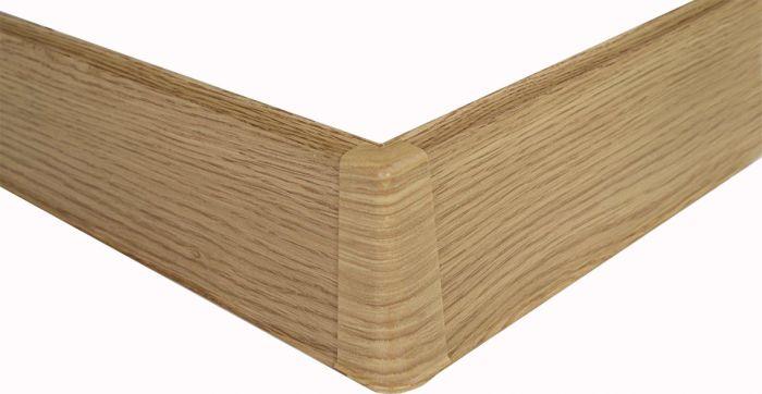 Põrandaliistu välisnurk PVC tamm 22 x 75 mm