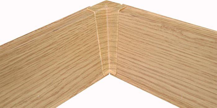 Põrandaliistu sisenurk PVC tamm 22 x 75 mm