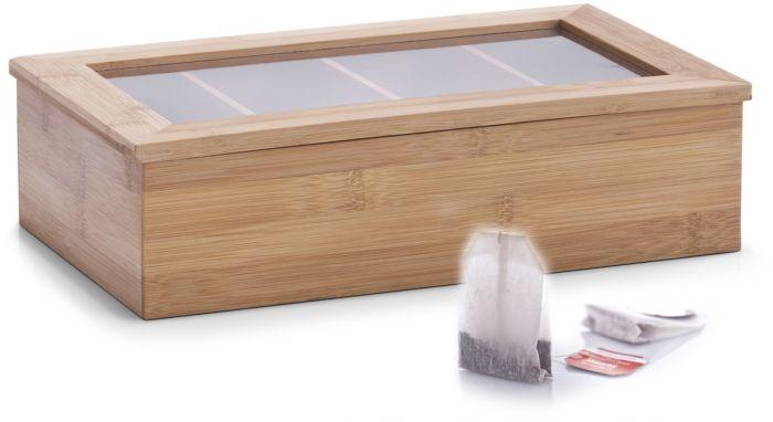 Teepakkide karp Zeller 33,5 x 9 x 20 cm