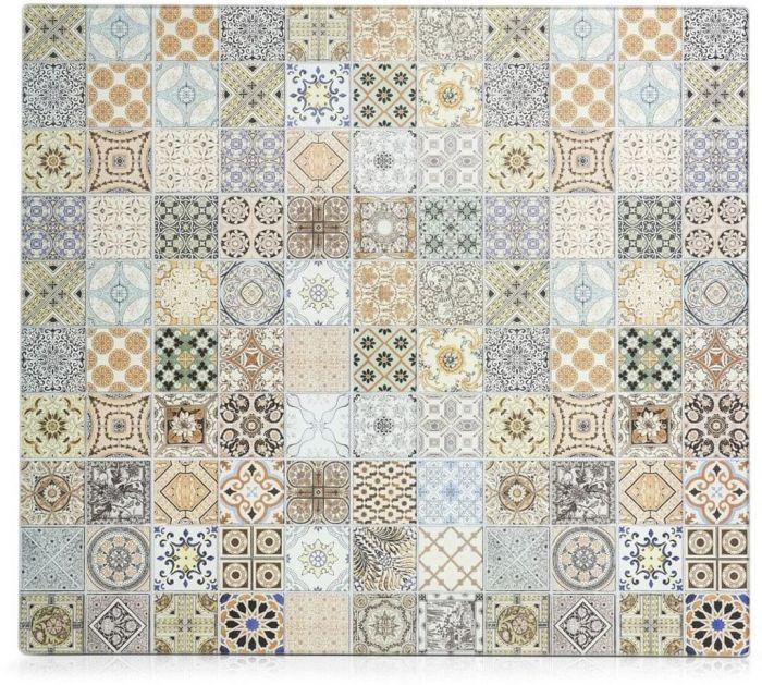 Pliidi ja seinakaitse Mosaic 56 x 50 cm