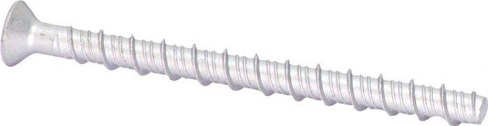 Betoonikruvid PP Ruspert 7,5 x 112 mm 10 tk