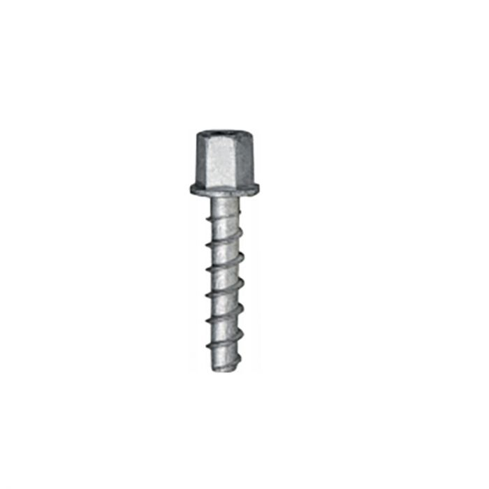 Betoonikruvid BTS6H 7,5 x 35 mm, M8, 15 mm, 5 tk