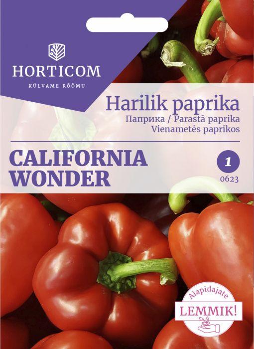 Harilik paprika California Wonder 1g