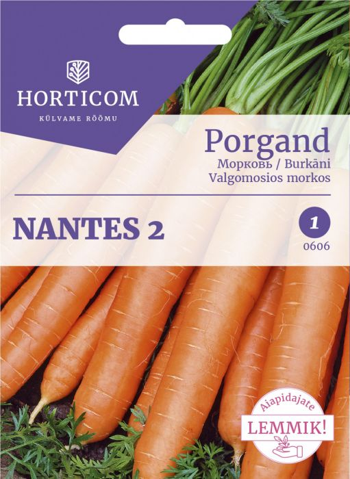 Porgand Nantes 2 5g