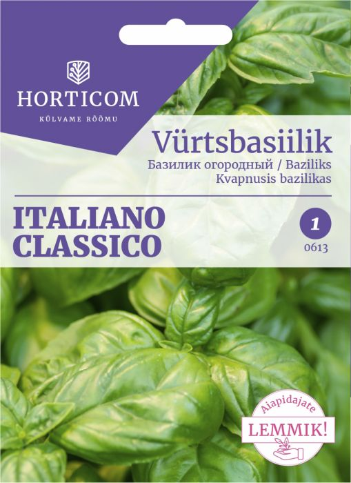 Vürtsbasiilik Italiano Classico 1g