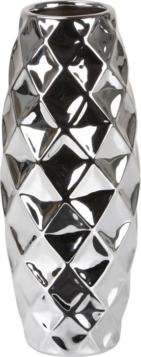 Vaas Mirror Silver Ø 32 cm