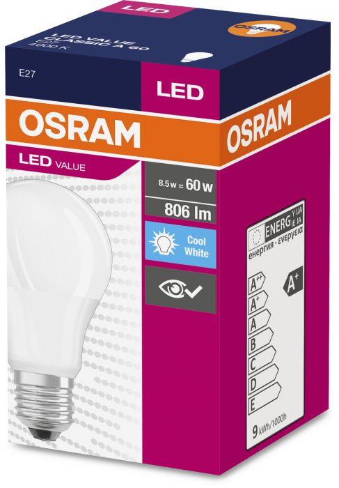 LED-lamp Osram 8,5 W, E27