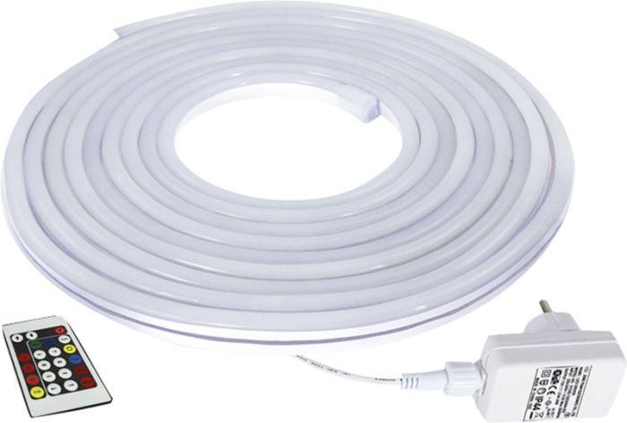 LED-neoonvalgusriba Commel RGB Flex 5 m