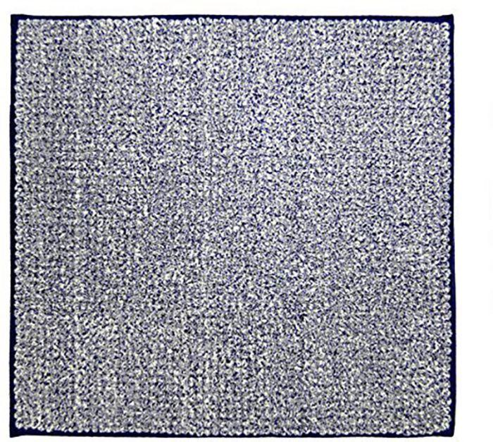 Vannitoavaip Fresh sinine/valge 50 x 55 cm