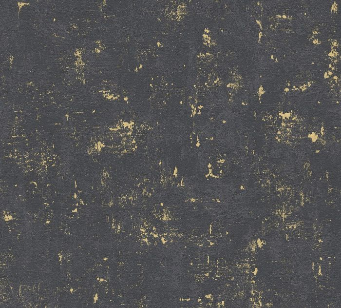 Fliistapeet Trendwal Must/Kuldne