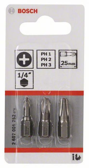 Kruviotsikud Bosch Torx8, 25 mm