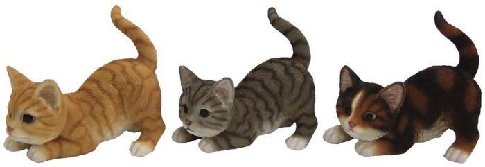 Aiakaunistus mängiv kass  9,8 x 18 x 16,3 cm